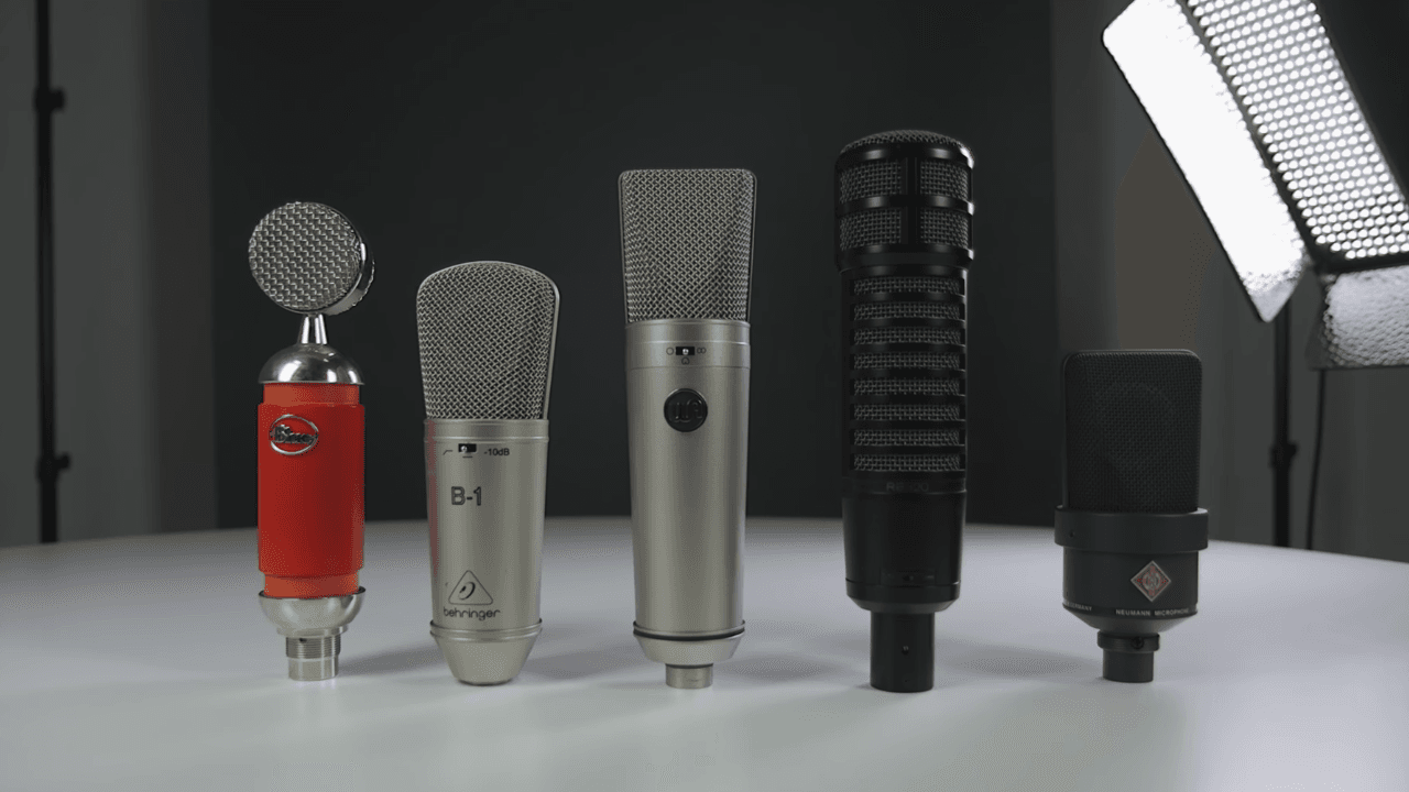 5 Best Microphones For Recording Vocals Uni Header