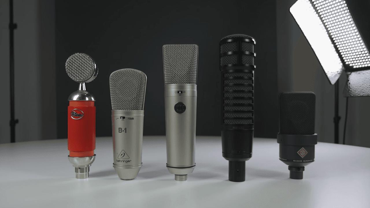 5 Best Microphones For Recording Vocals Uni Header