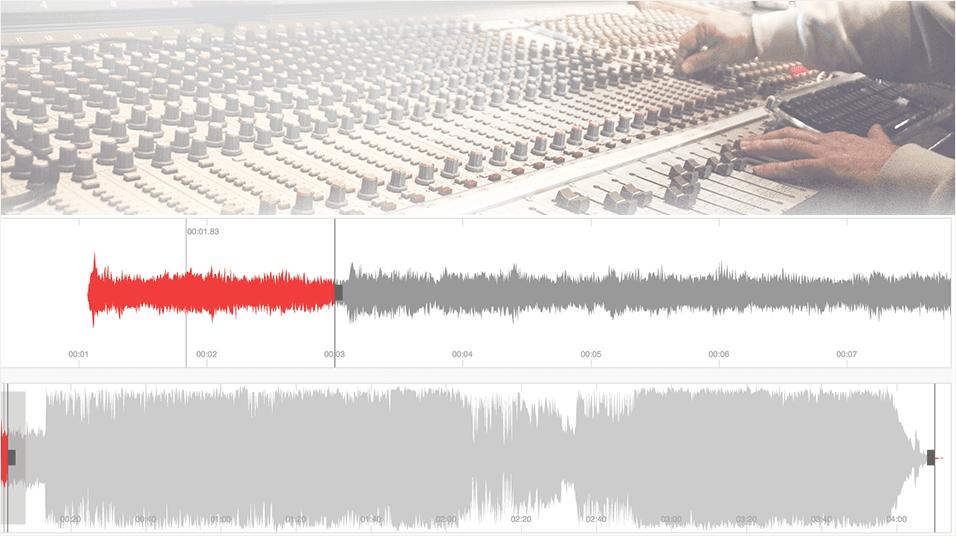 Audio Track Editor For Internet Radio