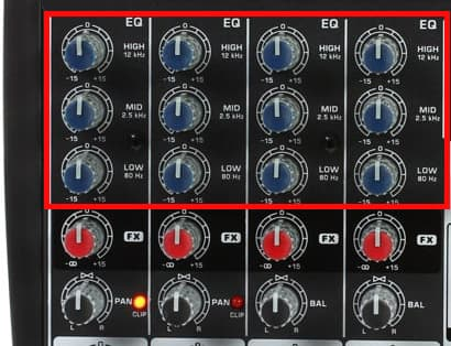Beginners Guide to Live Shows Using a Mixer EQ Dials