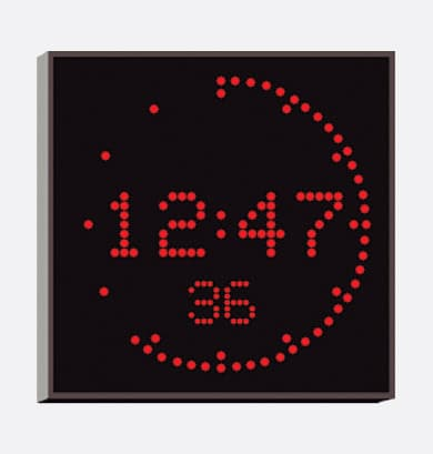 Broadcast Clock Digital Clock