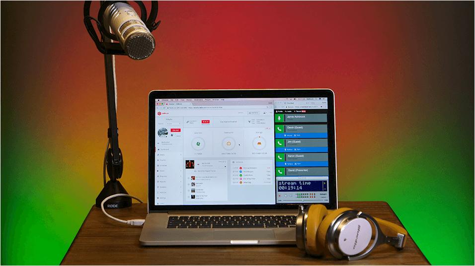 Broadcast Live Radio With Multiple Presenters