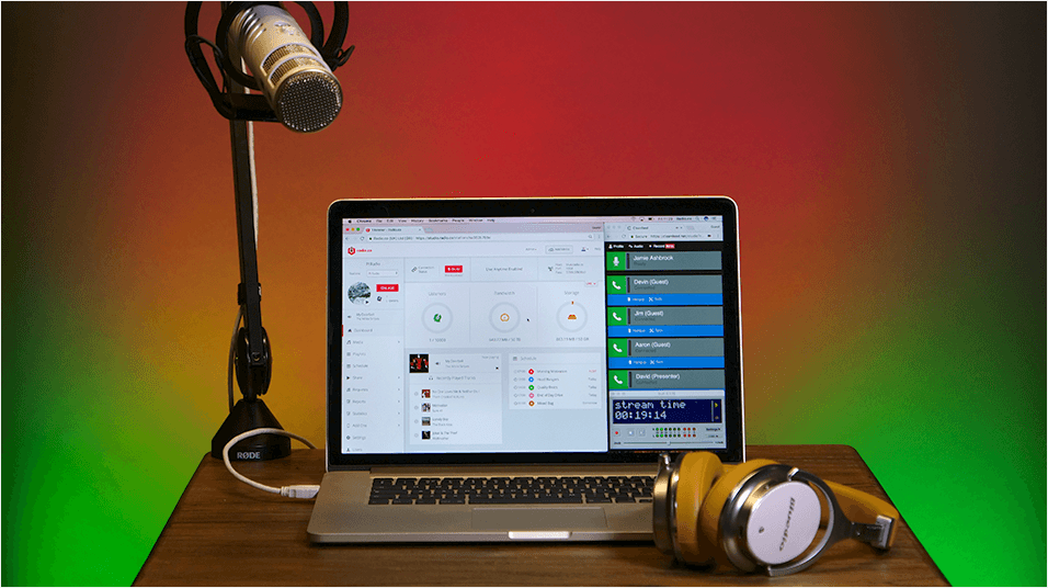 Broadcast Live Radio With Multiple Presenters