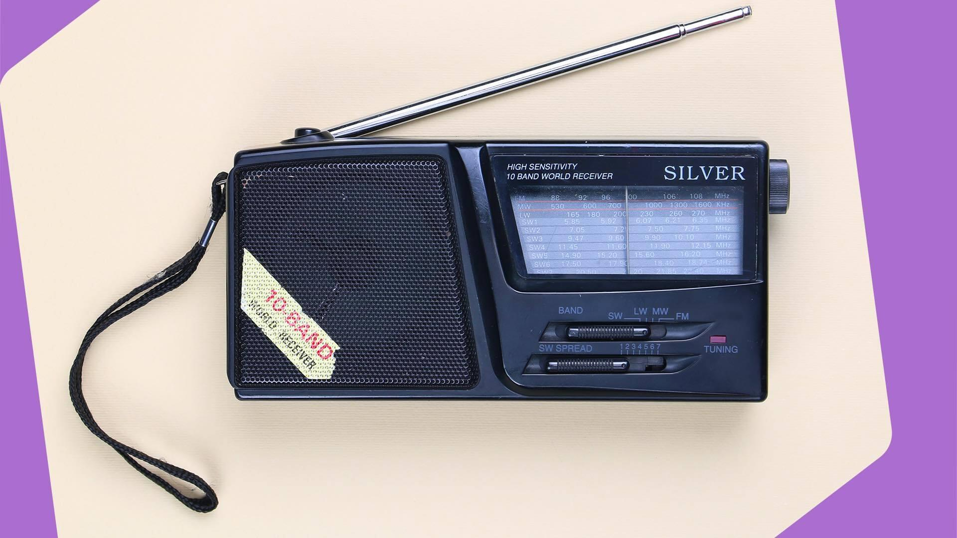 Broadcast Online Radio to DAB Header