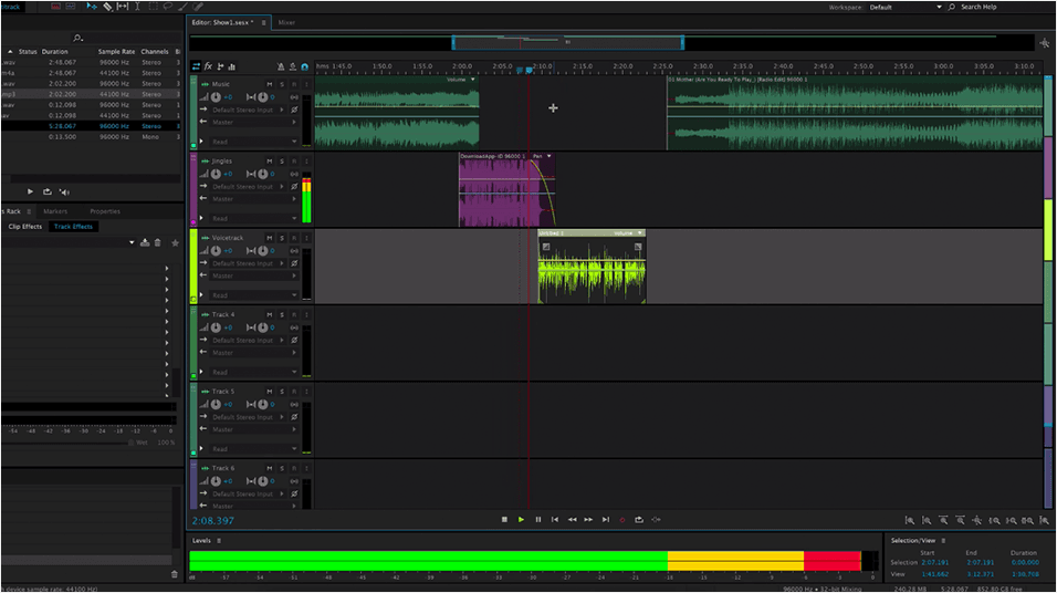 Edit Your Radio Shows With Adobe Audition