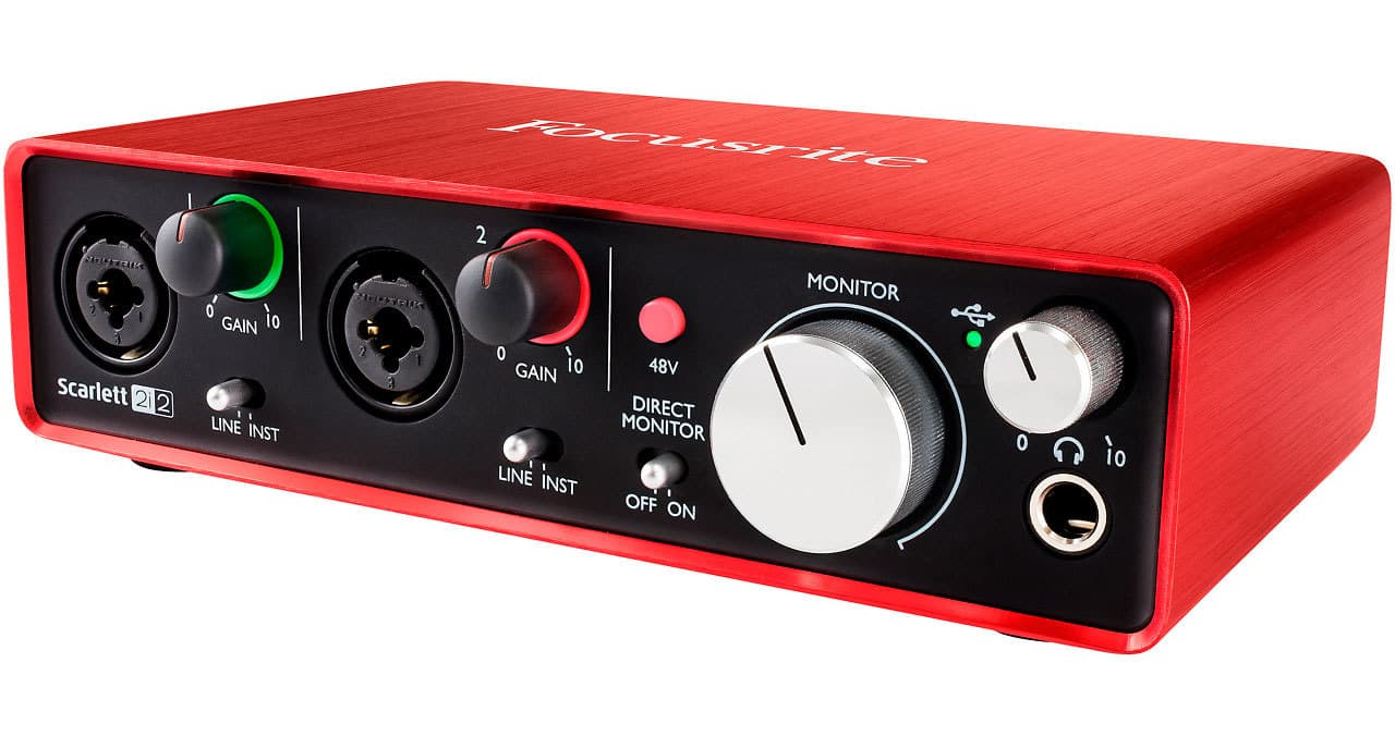 How to Start a Radio Station from Home Focusrite Scarlett 2i2