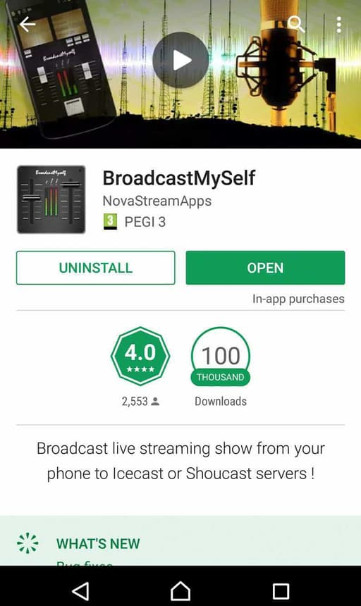 How to Broadcast Live Radio from Your Phone BroadcastMySelf 1