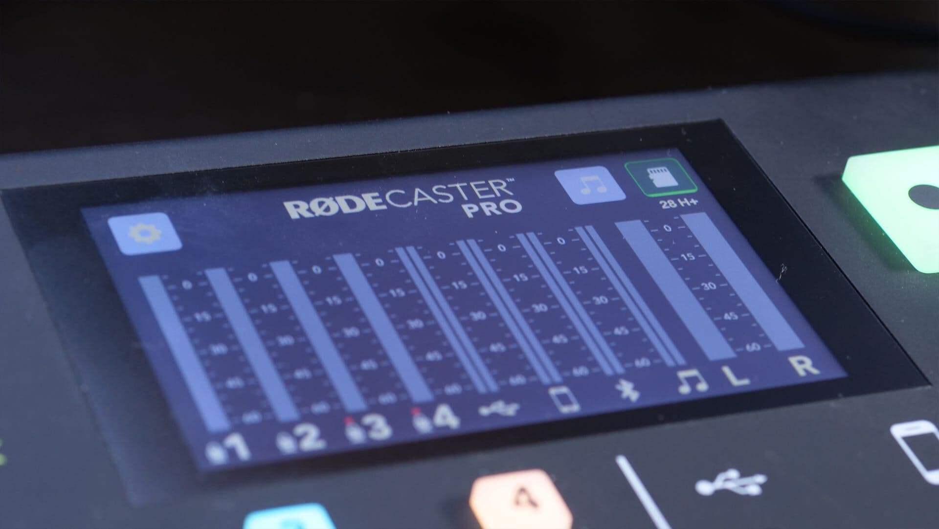 How to Broadcast Live Radio with the Rodecaster Pro Broadcast Meters