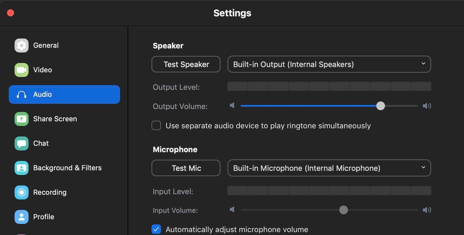 How to Broadcast Zoom Calls to your Radio Station Zoom Settings