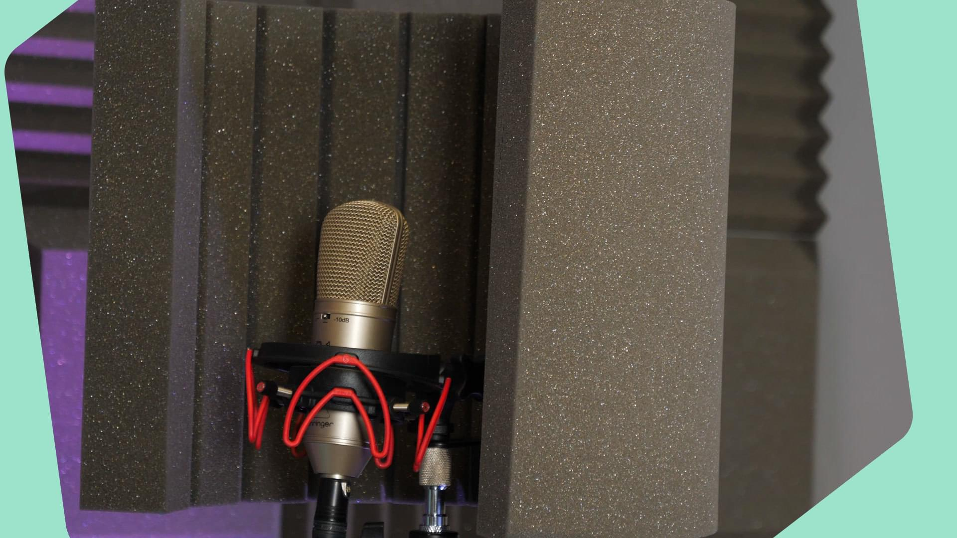 Pro Acoustic Foam Microphone Screen Blog Header