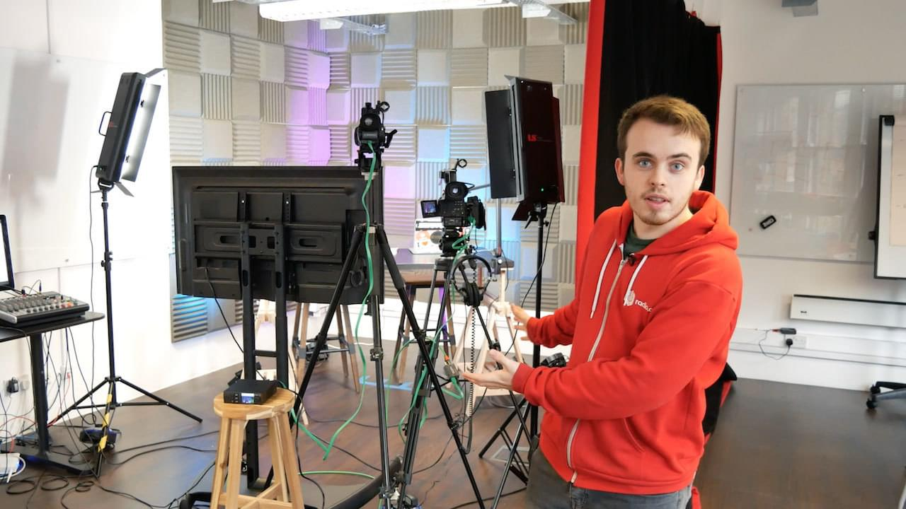 Professional Multi Camera Live Video Streaming Setup