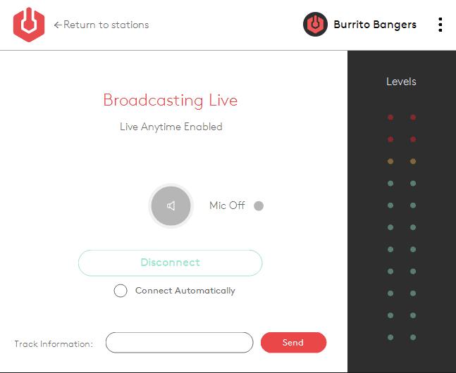 Radio.co Broadcaster