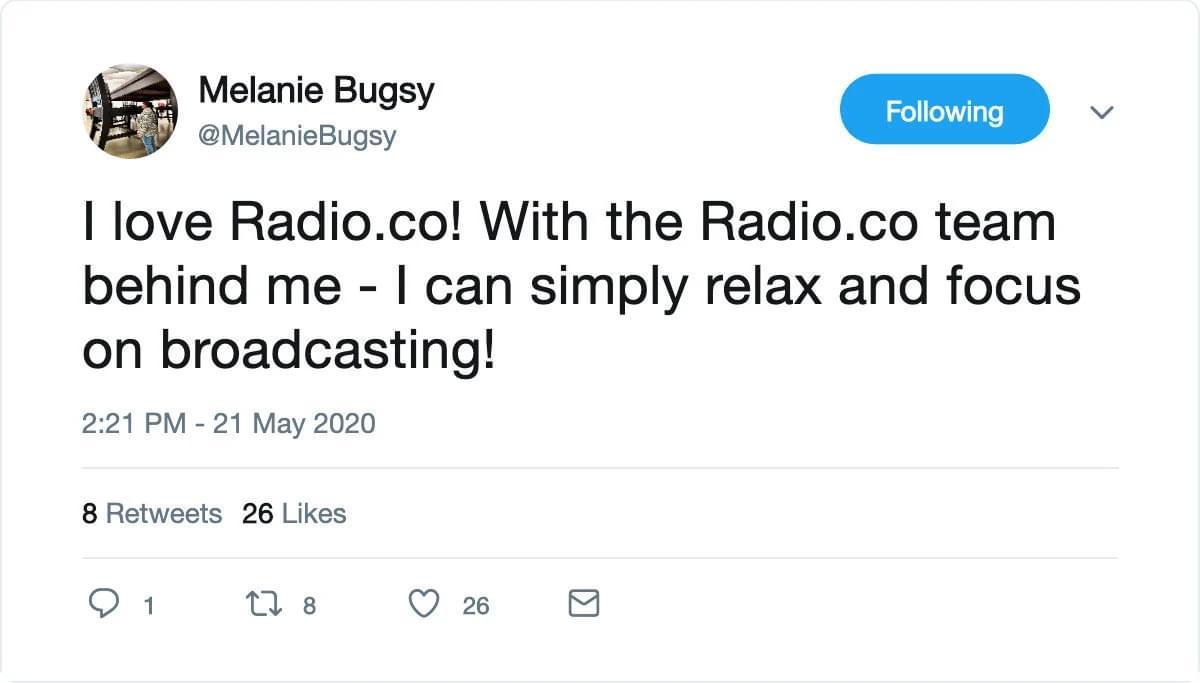 Radio Co Testimonial 11