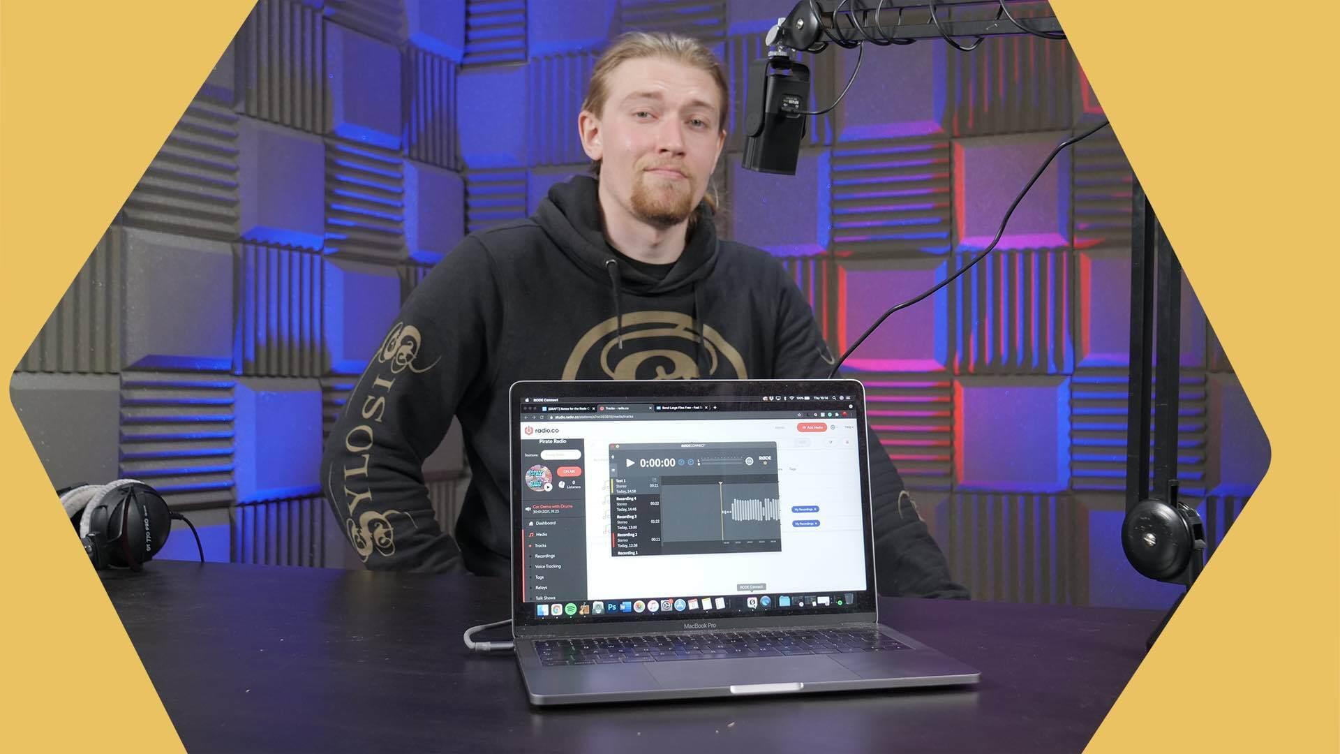 Rode Connect Setup for Radion Header Image