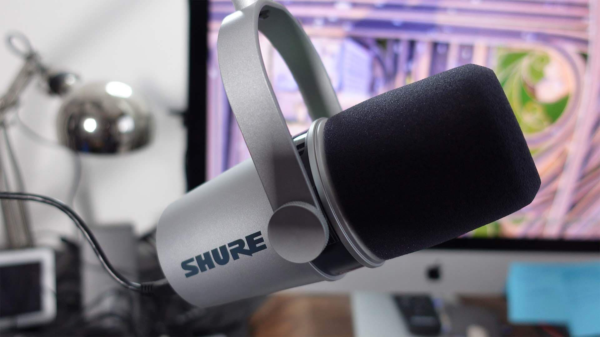 Equipment You Need to Start an Online Radio Station Shure MV7