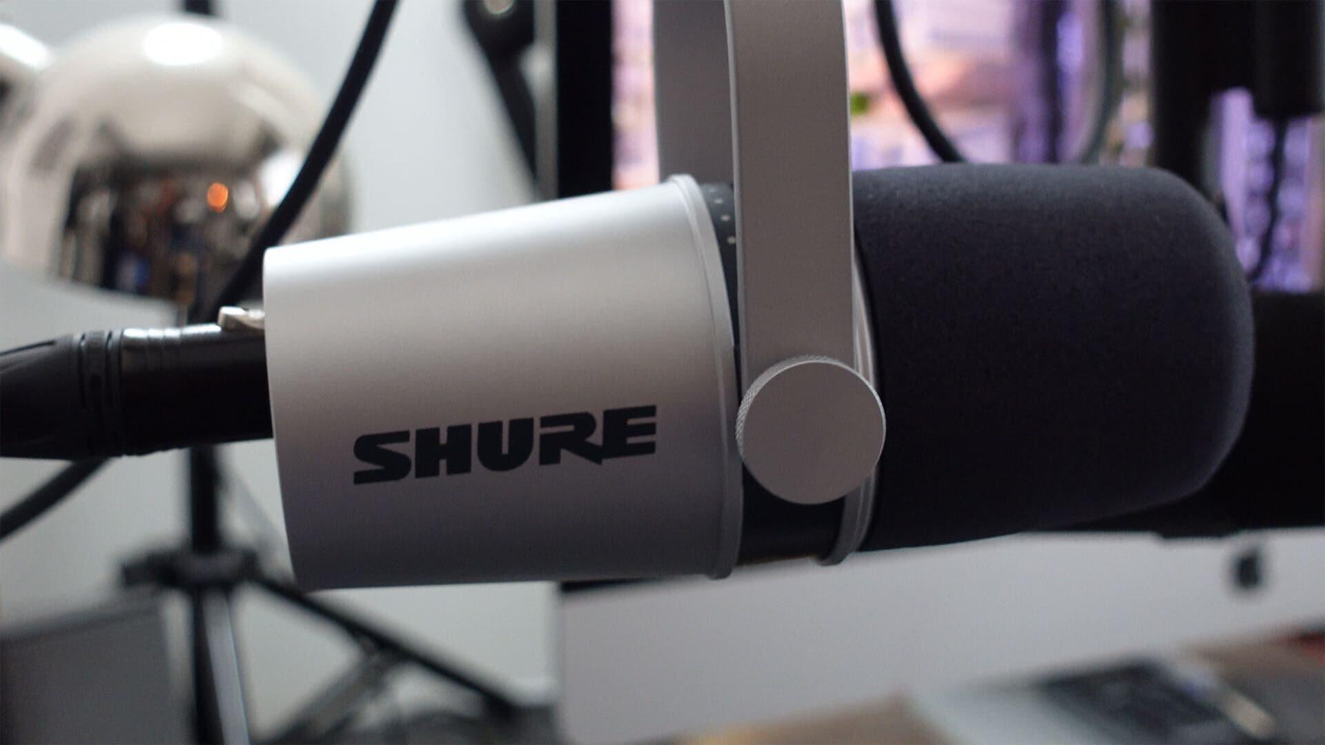 Shure MV7 XLR Use