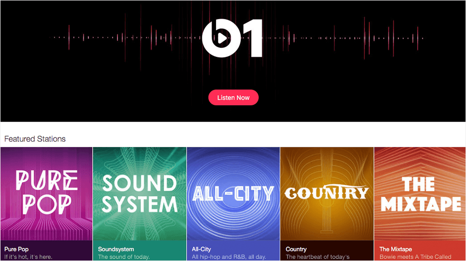 Submit Your Radio Station To I Tunes Radio Apple Music