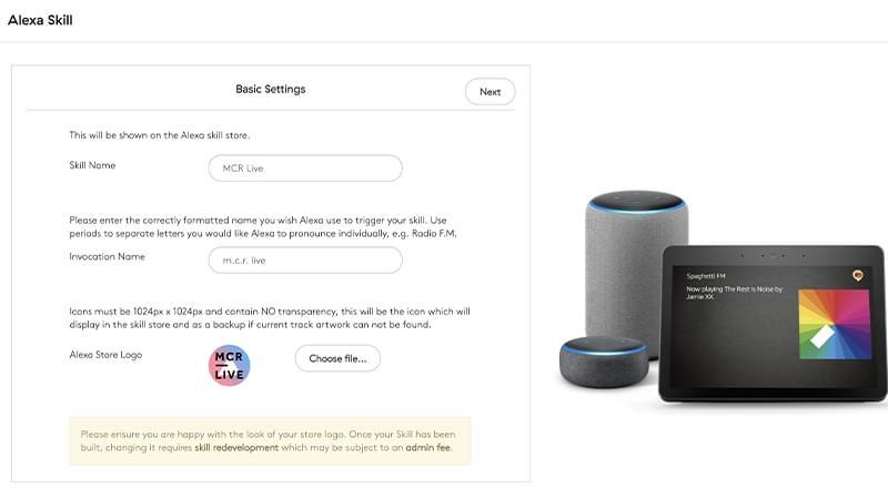 Uni Article Alexa Skill Header Image