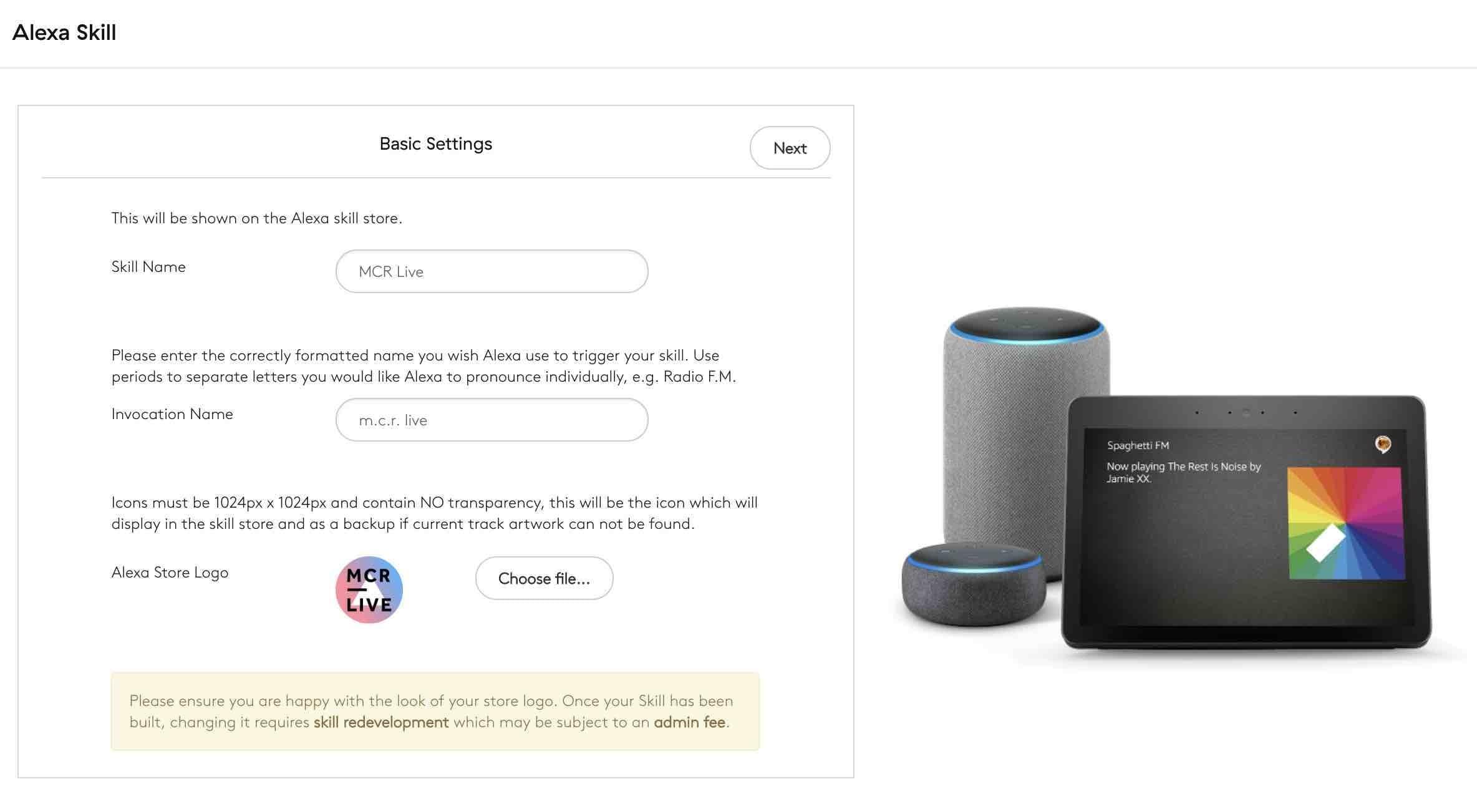 Amazon Alexa Skill Step 3