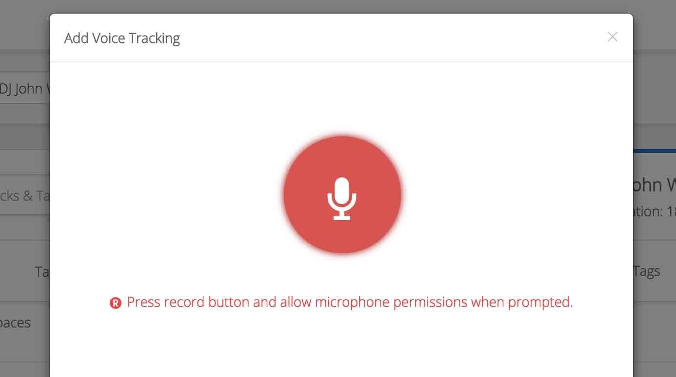 Voice Tracking 3