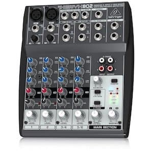 How to Start a Radio Station from Home Behringer XENYX 802