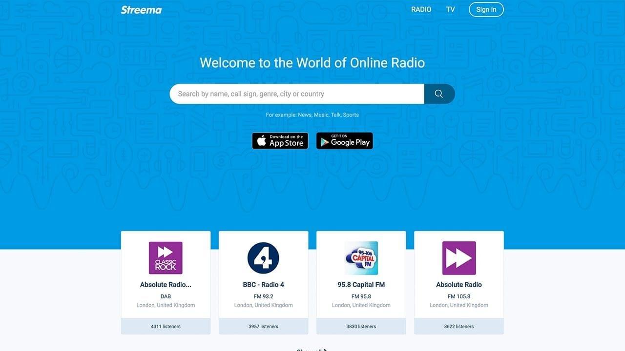 Add Radio Station Streema Uni