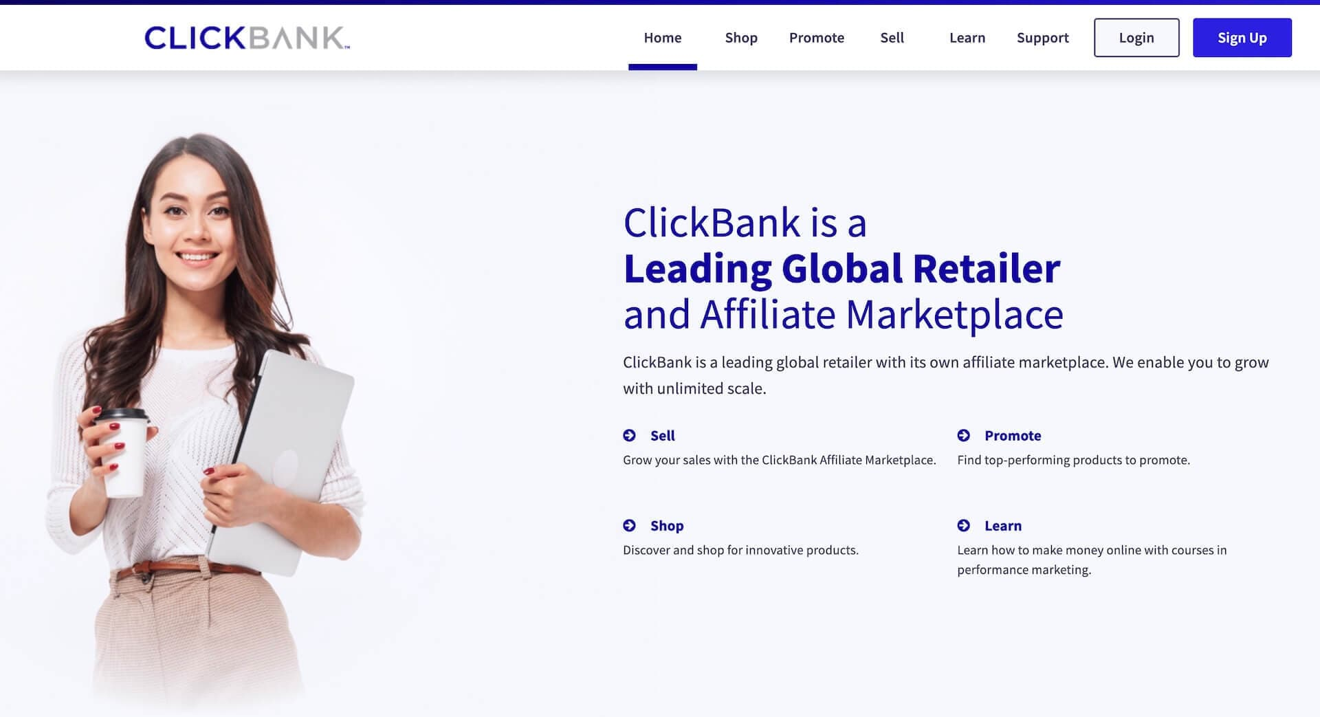 ClickBank: Affiliate marketing for entrepreneurs