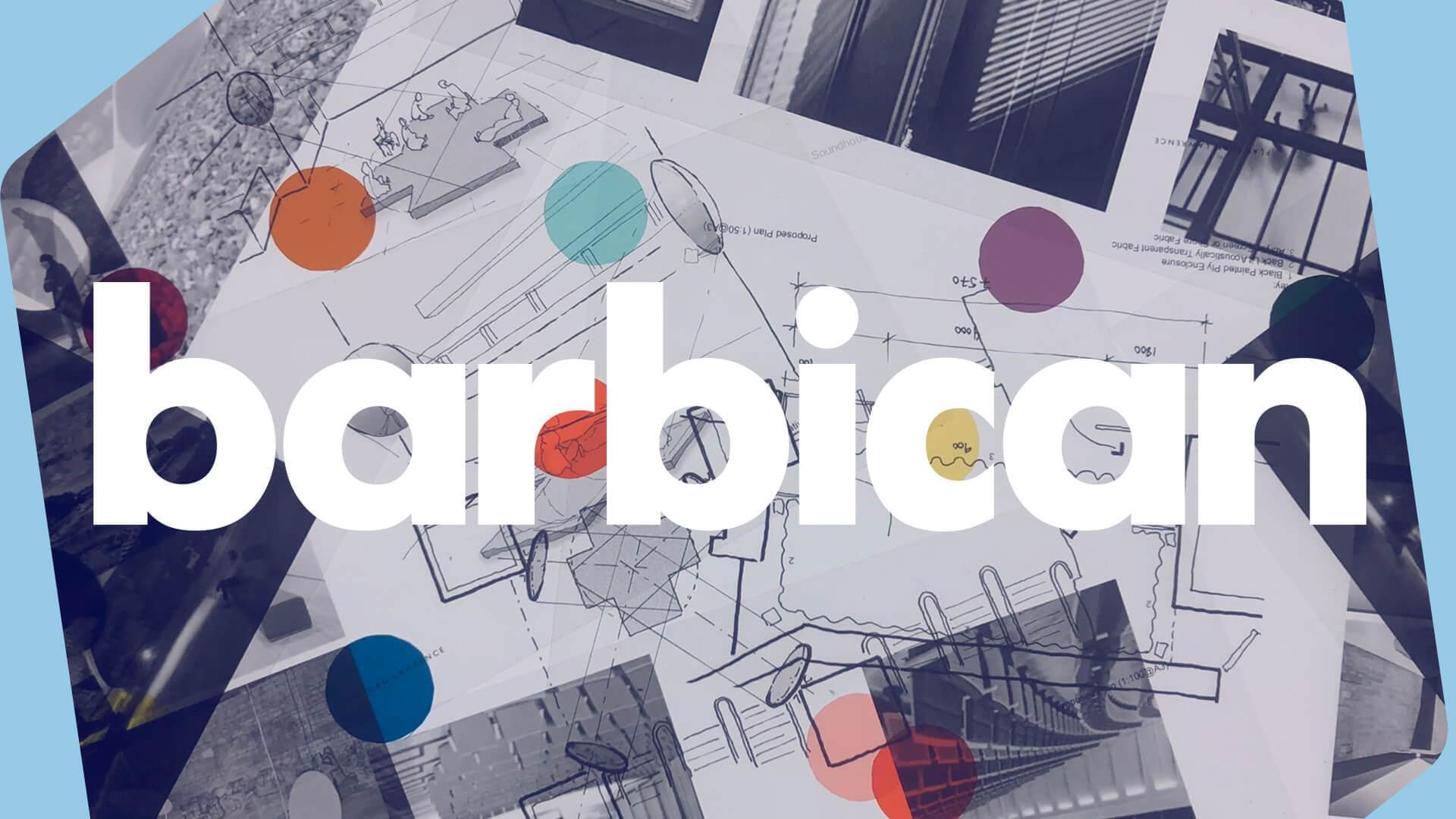 Creating performing arts radio barbican white header