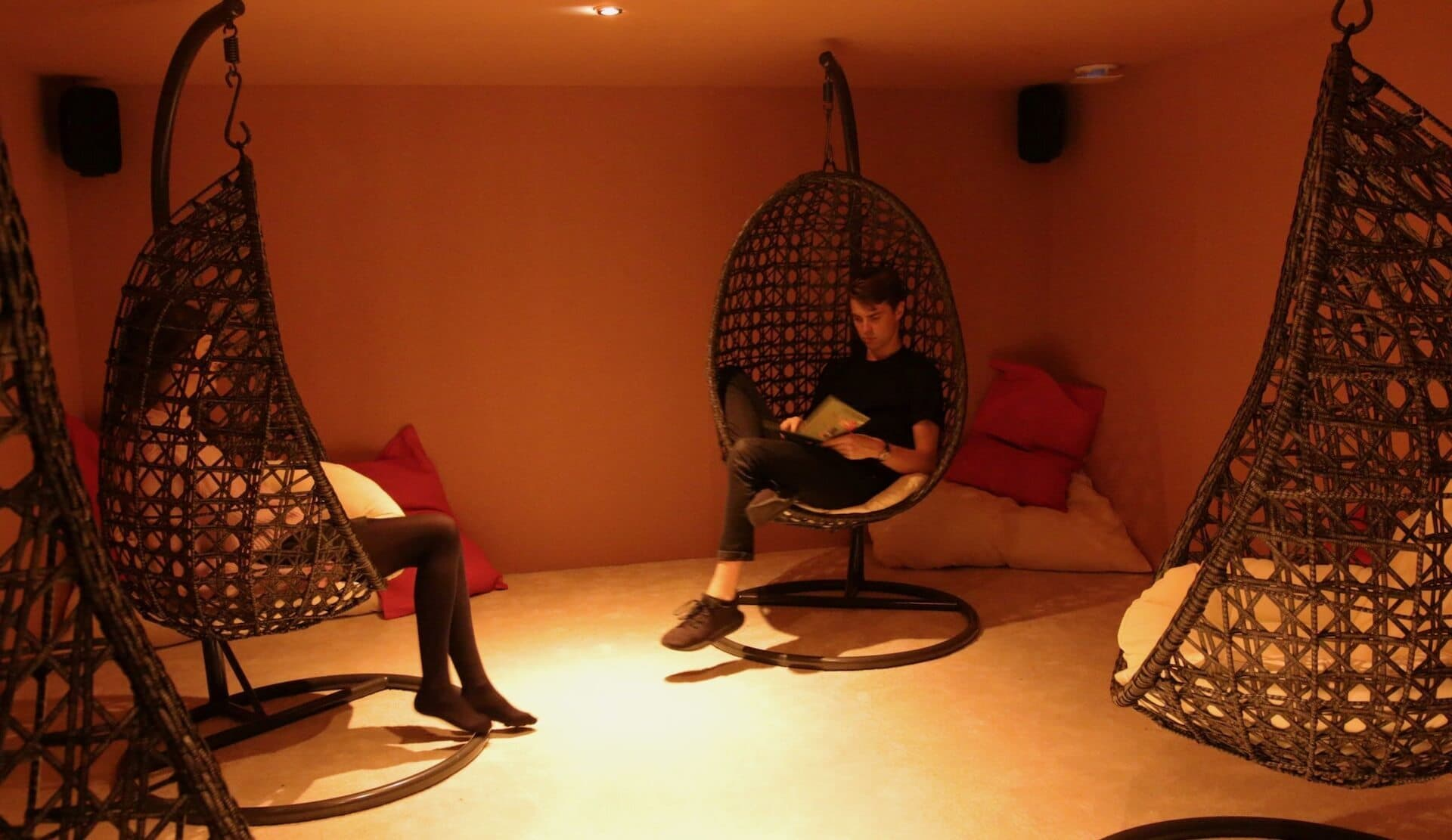 Barbican Soundhouse shared listening space