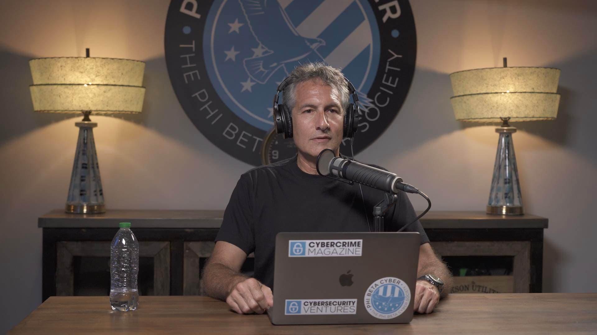 Cybercrime Radio presenter Steve Morgan.