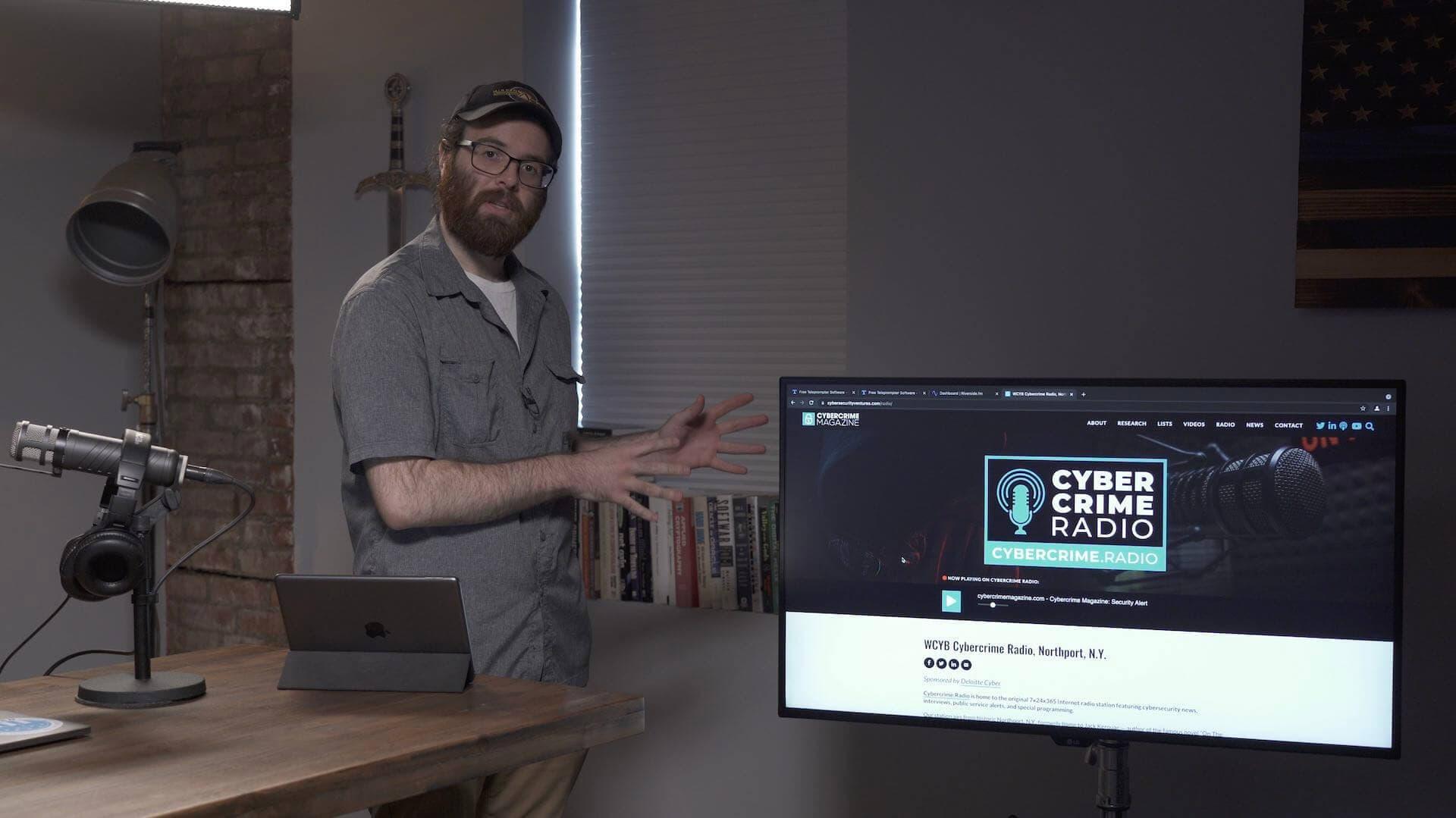 Cybercrime Radio website.