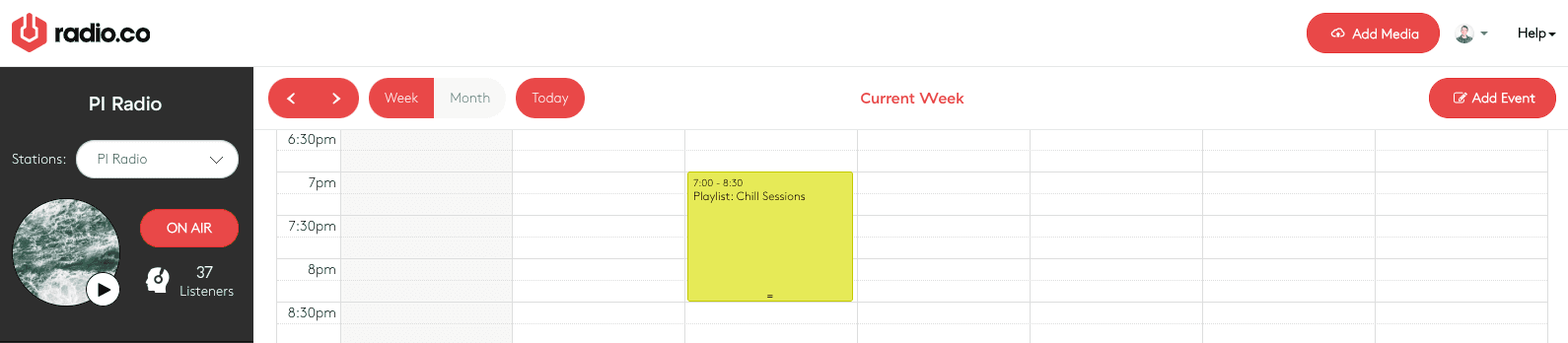 Event overrun - nothing scheduled afterwards