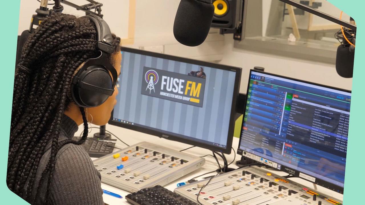 Fuse Fm Student Radio Header
