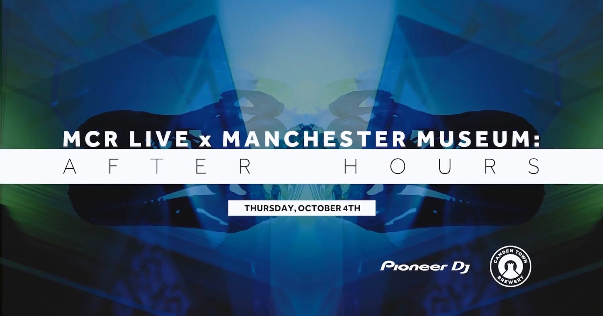 MCR Live event with Pioneer at Manchester Museum
