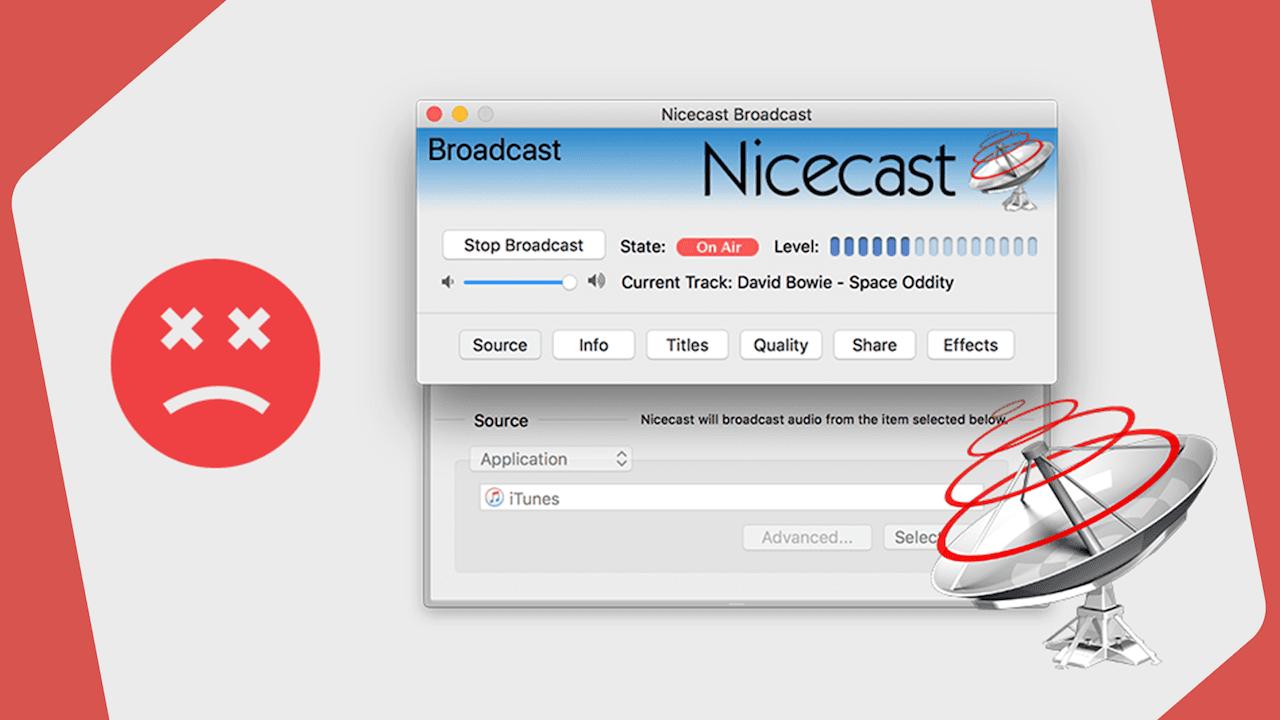 Nicecast No More Header