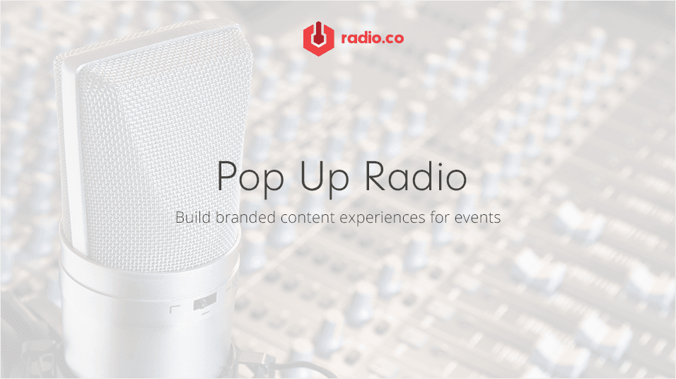 Popup Radio