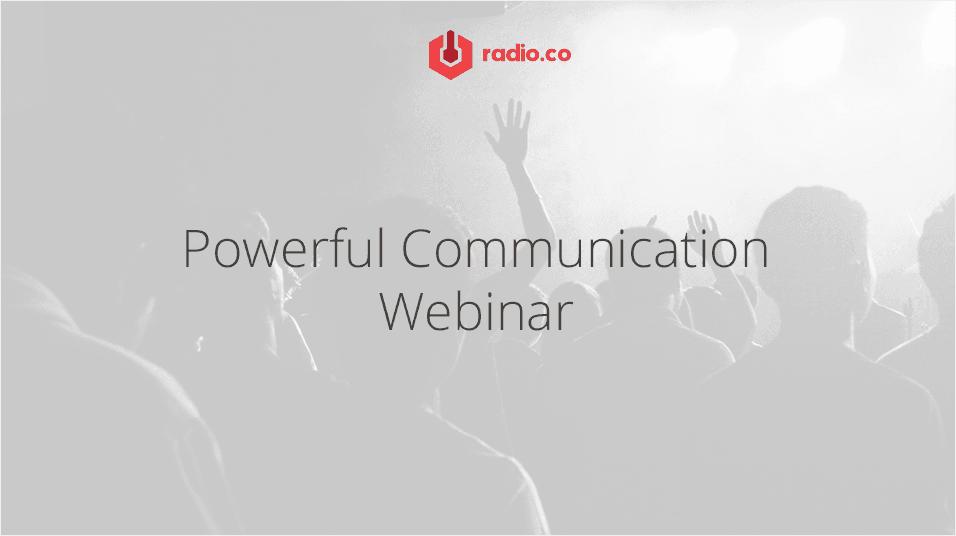 Powerful Communication Webinar With Valerie Geller