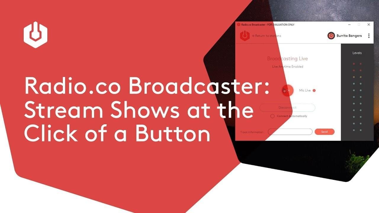 Radio broadcaster thumbnail