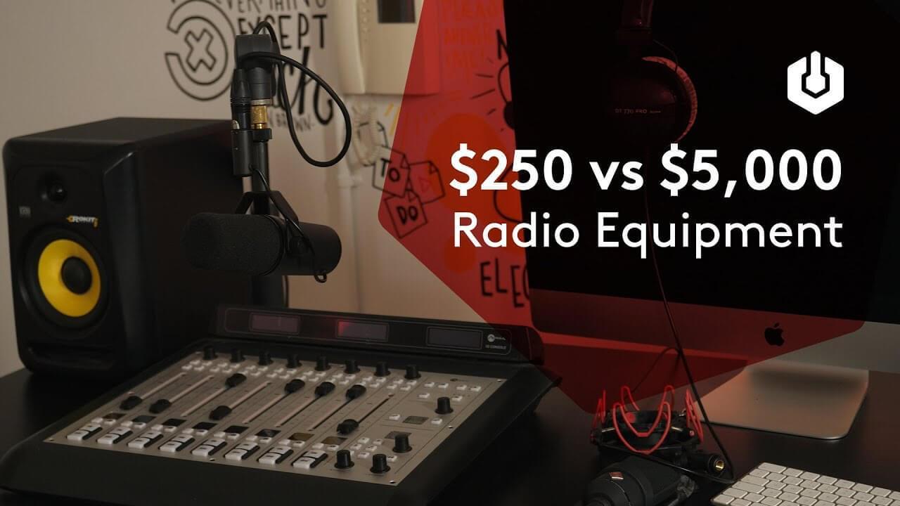 Radio equipment 250 vs 5000 thumbnail