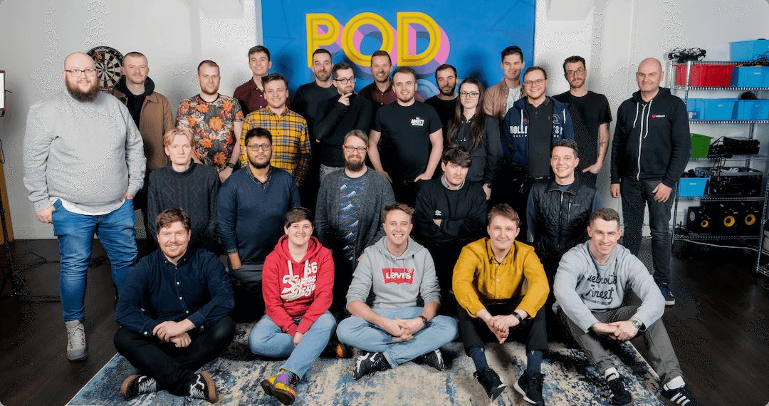 Radio production services team