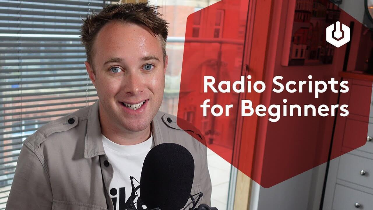 Radio script for beginners thumbnail
