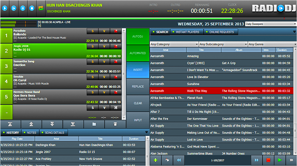 Setup Radiodj Broadcast Radio Online