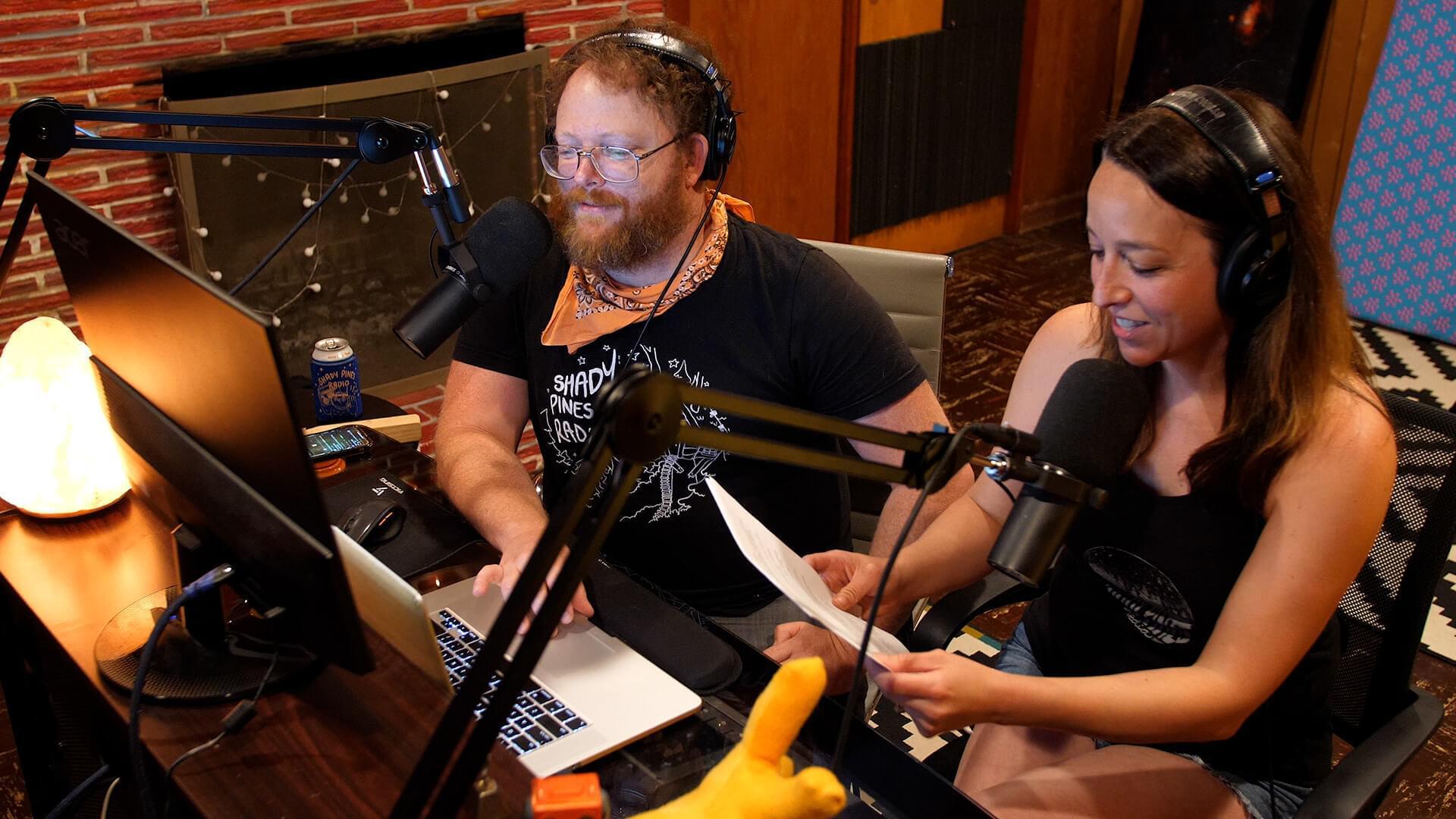 Shady pines radio case study header