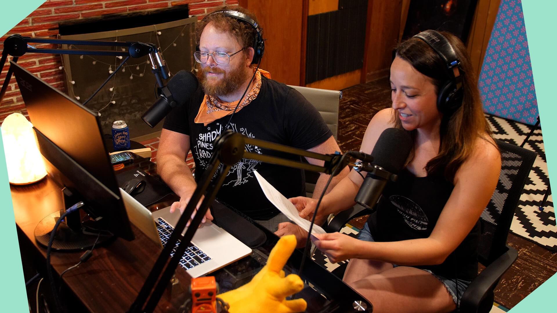 Shady pines radio creative community radio header