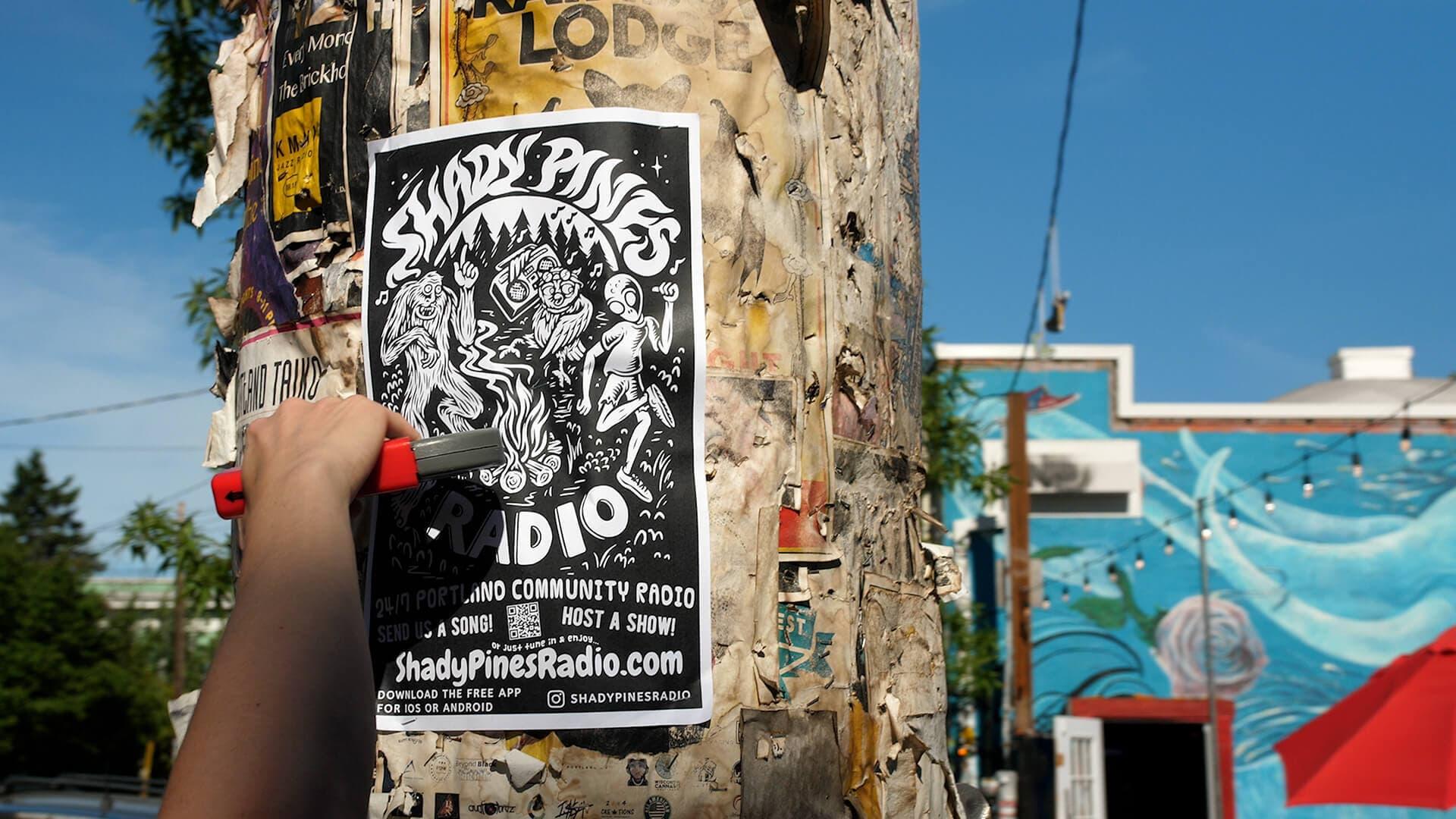 Shady Pines Radio poster