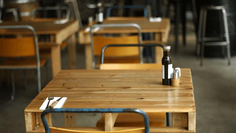 Smoke Restaurant Table