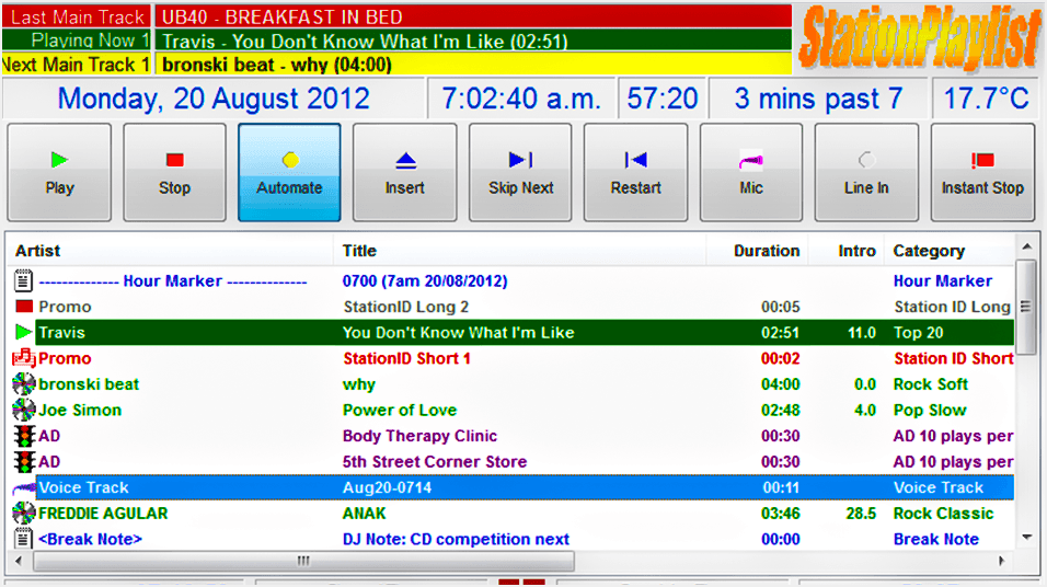 Stationplaylist Studio Online Radio