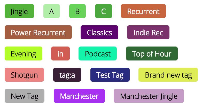 Radio.co Tags
